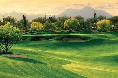 The Desert Retreat - 4 Nights / 3 Rounds in a 4 bedroom private home with desert views
